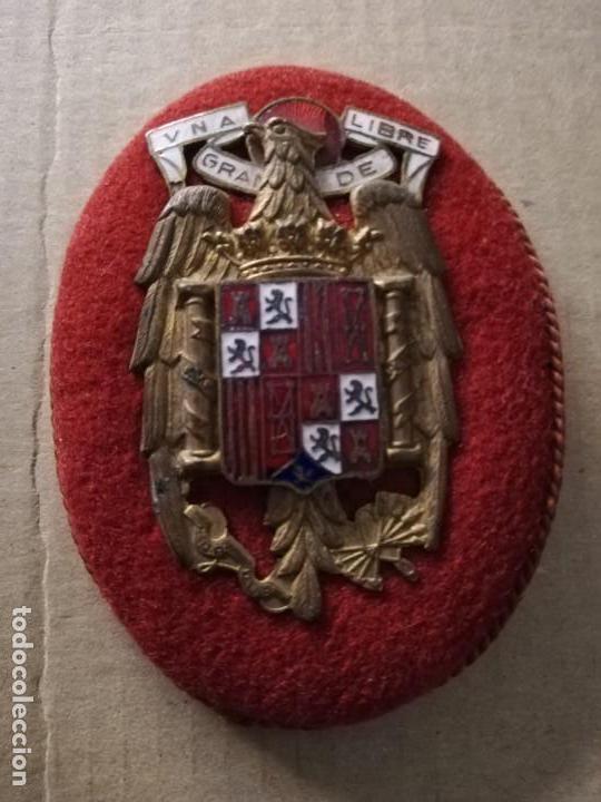 EMBLEMA EPOCA FRANCO (Militar - Otros relacionados con uniformes )