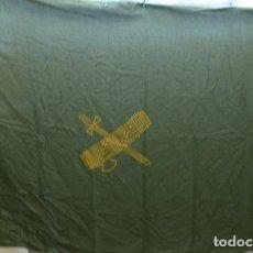 Militaria: CUBRECAMAS, ORIGINAL GUARDIA CIVIL...AÑOS 90..MEDIDAS APROX..2,20 X 1,40 CMS..HECHA EN BARCELONA.... Lote 146151342