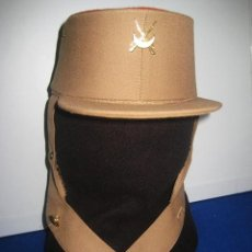 Militaria: GORRA PASEO. REGULARES CEUTA Y MELILLA. TROPA. PRENDA DE USO ACTUAL. FABRICANTE: M. VALLE, S.A.. Lote 146179062