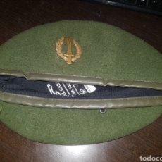Militaria: BOINA VERDE COE GOE OPERACIONES ESPECIALES. Lote 146569732