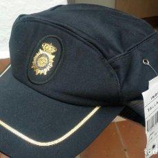 Militaria: POLICÍA NACIONAL GORRA SIN ESTRENAR CON TODAS SUS ETIQUETAS . Lote 146869042