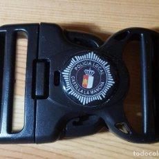 Militaria: HEBILLA POLICIA LOCAL CASTILLA LA MANCHA - NUEVA, SIN USAR. Lote 147577494