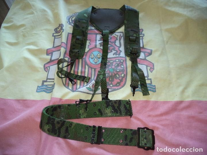 CORREAJE DE CAMPAÑA BOSCOSO PIXELADO (Militaria - Gürtel und Schnallen)