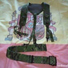 Militaria: CORREAJE DE CAMPAÑA BOSCOSO PIXELADO. Lote 147682174