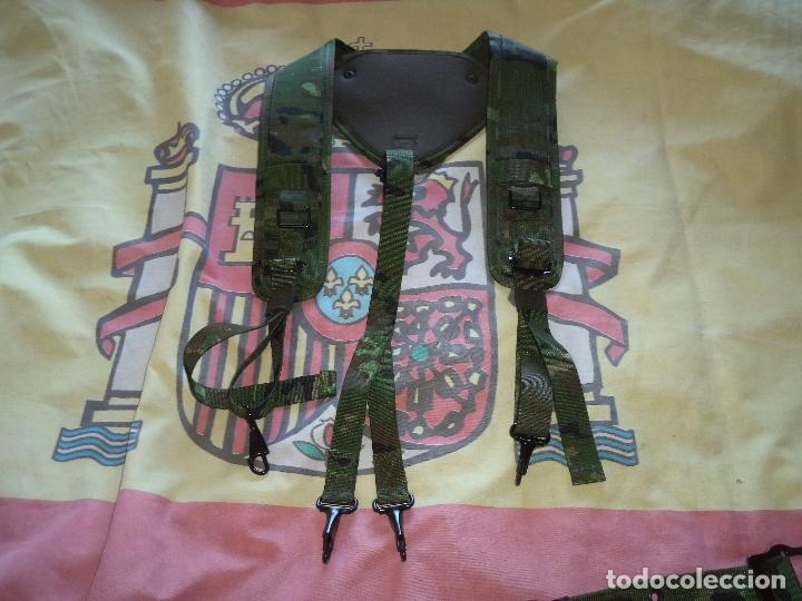 Militaria: CORREAJE DE CAMPAÑA BOSCOSO PIXELADO - Foto 5 - 147682174