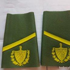 Militaria: CUBA CHARRETERA GRADO SOLDADO. Lote 147718882