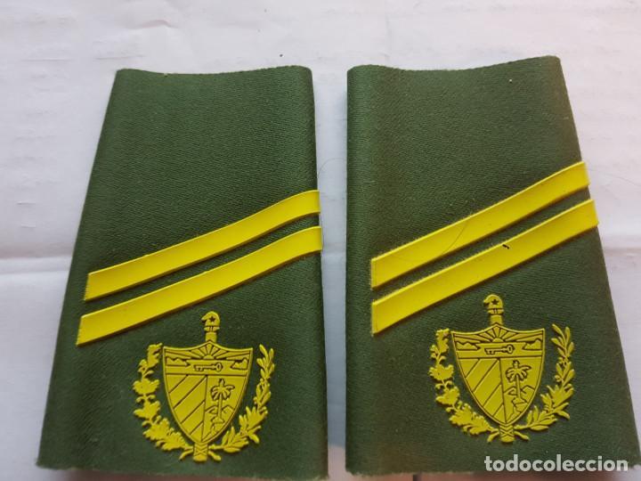 CUBA CHARRETERA GRADO CABO (Militar - Otros relacionados con uniformes )