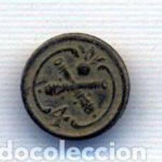 Militaria: BOTON MILIAR FRANCES ARTILLERIA NUMERO 4. Lote 147741130