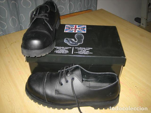 BootsDe Trash 46 Ingleses originales Zapatos PielT xoCerdB