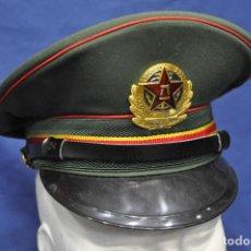 Militaria: REPÚBLICA POPULAR DE CHINA. PLA. GORRA DE PLATO DE OFICIAL DE LA MARINA. . Lote 147983014