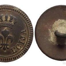 Militaria: BOTÓN GUERRA DE LA INDEPENDENCIA, PROVINCIAL DE ECIJA, 23 MM.. Lote 148195698