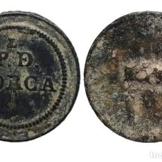 Militaria: BOTÓN GUERRA DE LA INDEPENDENCIA, PROVINCIAL DE LORCA, 22 MM.. Lote 148195862