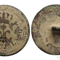 Militaria: BOTÓN GUERRA DE LA INDEPENDENCIA, PROVINCIAL DE BUJALANCE, 23 MM.. Lote 148196110