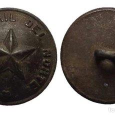 Militaria: BOTÓN FERROCARRIL DEL NORTE, 21 MM.. Lote 148196454