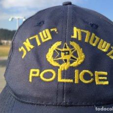 Militaria: GORRA DE POLICÍA DE ISRAEL. AJUSTABLE.. Lote 148362120