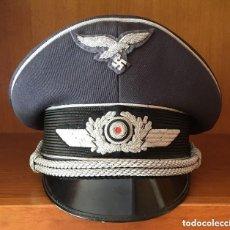 Militaria: GORRA DE OFICIAL DE LA LUFTWAFFE. Lote 148371554