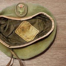 Militaria: ANTIGUA GORRA MILITAR DEL E.T. ESPAÑOL AGUILA Y CORONA 1991. Lote 148377680