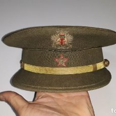Militaria: ANTIGUA GORRA MILITAR DE PLATO DE SUBTENIENTE DE INFANTERIA DEL EJERCITO DE TIERRA ESPAÑOL. Lote 148415570