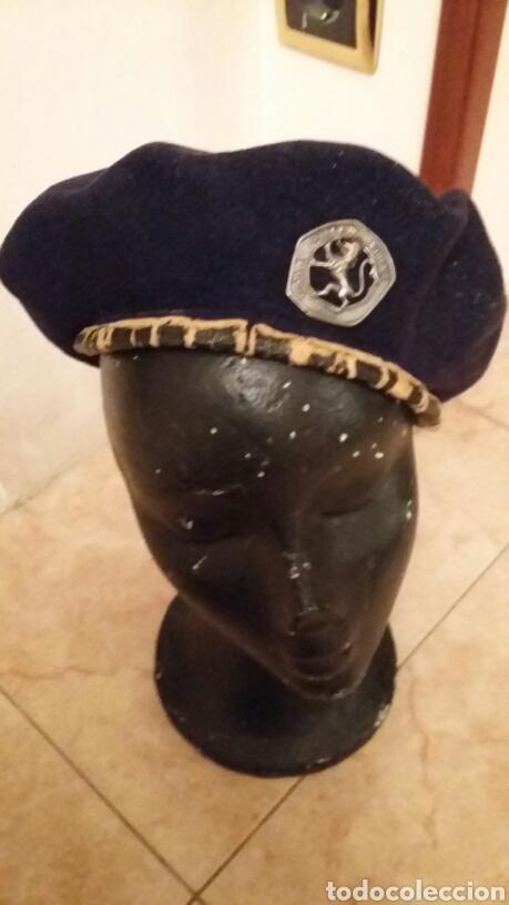 Militaria: BOINA DE LA OJE.MUY ANTIGUA,100% ORIGINAL - Foto 2 - 149413826