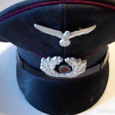 Militaria: GORRA PLATO, ALEMANIA, II GUERRA MUNDIAL. REPLICA 1968. Lote 150025918