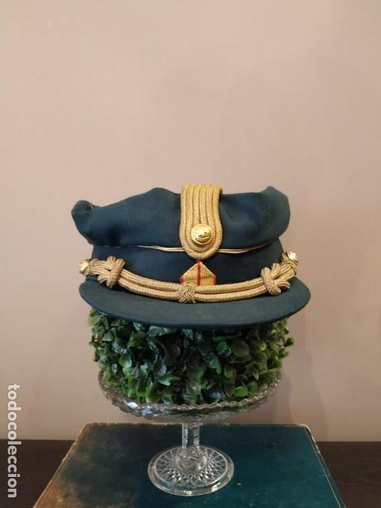 GORRA BRIGADA CRUZ ROJA. (Militar - Boinas y Gorras )