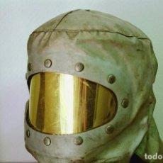 Militaria: FRANCIA - CASCO DE BOMBERO AEROPUERTO DE TARBES/LOURDES (1960/80) - VER FOTOS. Lote 150275454