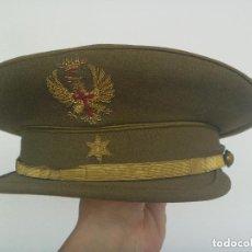 Militaria: GORRA DE PLATO DE ALFEREZ DEL EJERCITO DE TIERRA , EPOCA DE FRANCO. Lote 195238402