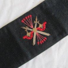 Militaria: BRAZALETE BORDADO GUARDIA DE FRANCO CASA YUSTAS. Lote 150579046
