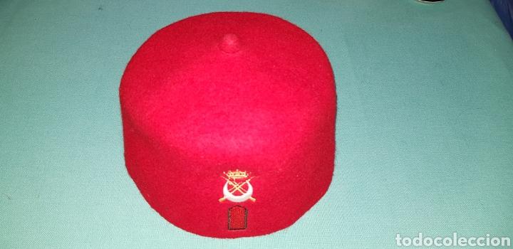 Militaria: GORRO TARBUSH MILITAR ORIGINAL DE REGULARES EJERCITO ESPAÑOL - Foto 2 - 150643441