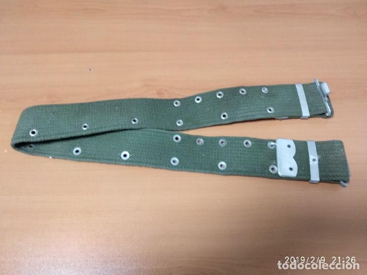 CINTURON LONA AÑOS 80 (Militar - Cinturones y Hebillas )