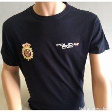 Militaria: CAMISETA POLICÍA NACIONAL MANGA CORTA COLOR AZUL MARINO TALLAS DESDE LA S A LA XXL. Lote 151426278