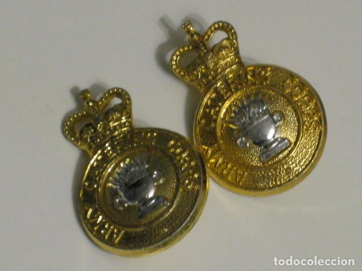 Militaria: Dos botones Army Catering Corps. - Foto 4 - 151536806
