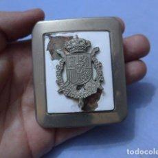Militaria: * HEBILLA ORIGINAL DE LA GUARDIA REAL, JUAN CARLOS I. ZX. Lote 151840478