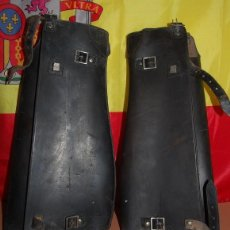 Militaria: ANTIGUAS POLAINAS DE CABALLERIA GUARDIA CIVIL EJERCITO ESPAÑOL. Lote 152217790