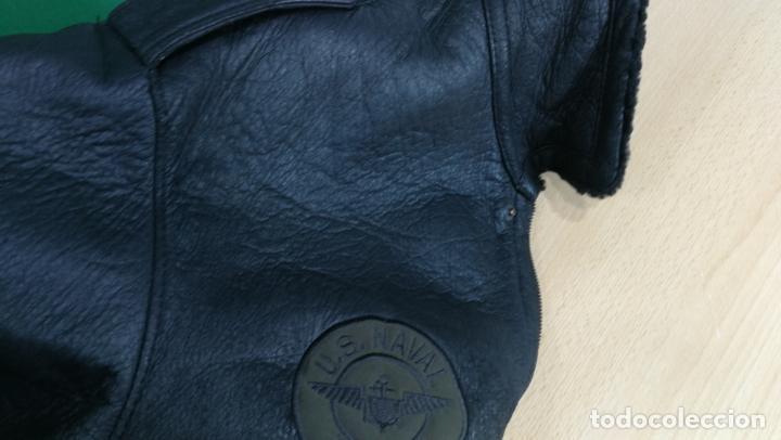 Militaria: IMPONENTE Cazadora MOTERA estilo aviador TOP GUM, viene a ser un XL - Foto 15 - 152231162