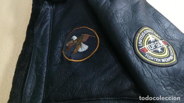 Militaria: IMPONENTE Cazadora MOTERA estilo aviador TOP GUM, viene a ser un XL - Foto 22 - 152231162
