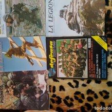Militaria: LOTE DE REVISTAS LEGION Y COES. Lote 152444178