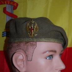 Militaria: BOINA EJERCITO DE TIERRA PARA OFICIALES AÑOS 80. Lote 152475282