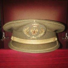 Militaria: GORRA DE PLATA DE OFICIAL DEL EJÉRCITO DE TIERRA ESPAÑA. . Lote 152498790