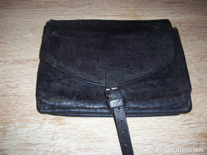 Militaria: ANTIGUA CARTERA DE CAMINOS DE GUARDIA CIVIL .LIBRETA DE MULTAS Y FUNDA CREDENCIAL . - Foto 3 - 77639121