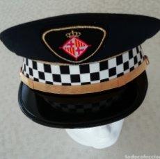 Militaria: GORRA DE PLATO POLICÍA GUARDIA URBANA DE BARCELONA. Lote 152638565