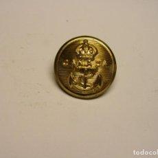Militaria: BOTÓN MILITAR DE CANADA. MARINA. Nº 2.. Lote 152717986