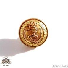 Militaria: BOTÓN REAL MAESTRANZA DE RONDA - ALFONSO XIII - 1,5 CM DE DIÁMETRO. Lote 152912450