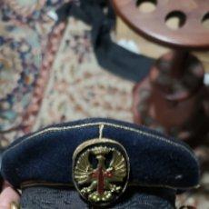 Militaria: MINIATURA DE GORRA DE PLATO PARA OFICIAL DE GALA DEL EJÉRCITO DE TIERRA ÉPOCA FRANCO. Lote 153071100