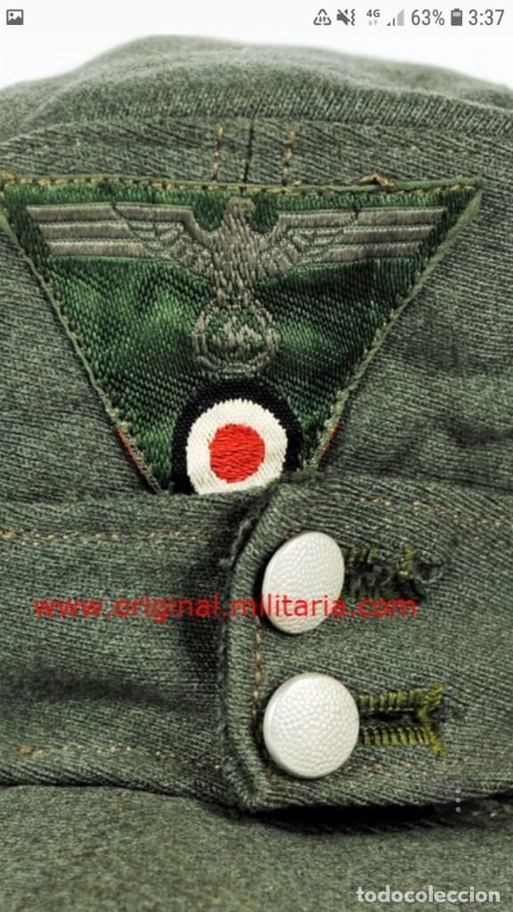 Militaria: WEHRMATCH. GORRA M43 PARA TROPA Y SUBOFICIALES - Foto 5 - 153175962