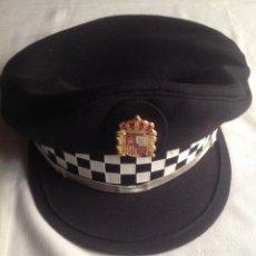 Militaria: GORRA POLICÍA MUNICIPAL CON ESCUDO. Lote 153501206