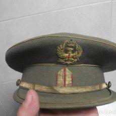 Militaria: GORRA DE PLATO ORIGINAL DE EJERCITO ESPAÑOL TALLA 57 BUEN ESTADO. Lote 153837438
