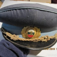Militaria: ANTIGUA GORRA MILITAR DE LA AVIACION BULGARA BUEN ESTADO DE CONSERBACION. Lote 154272822