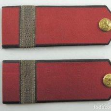 Militaria: ANTIGUAS HOMBRERAS SOVIÉTICAS TELA EXCELENTE PIEZA DE DECORACIÓN. Lote 154568162