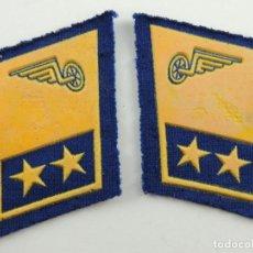 Militaria: ANTIGUOS PARCHES DE TELA DE EJERCITO DE AIRES EXCELENTE PIEZA DE DECORACIÓN. Lote 154568454